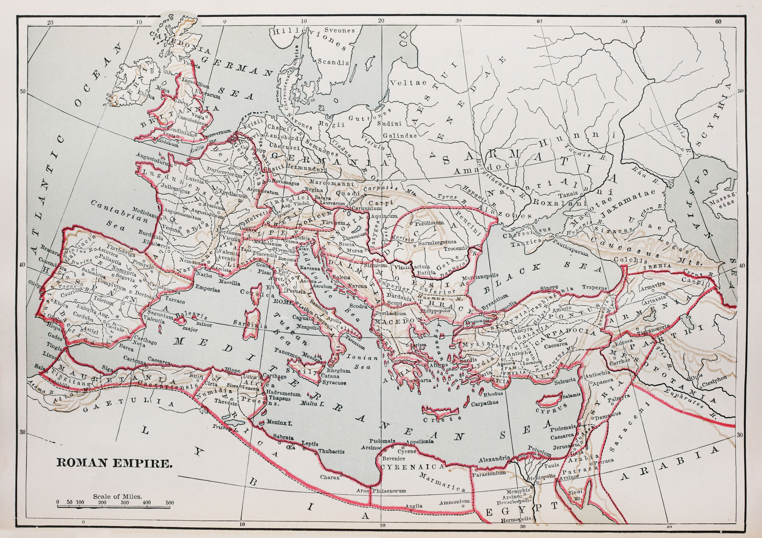 Roman Empire Map