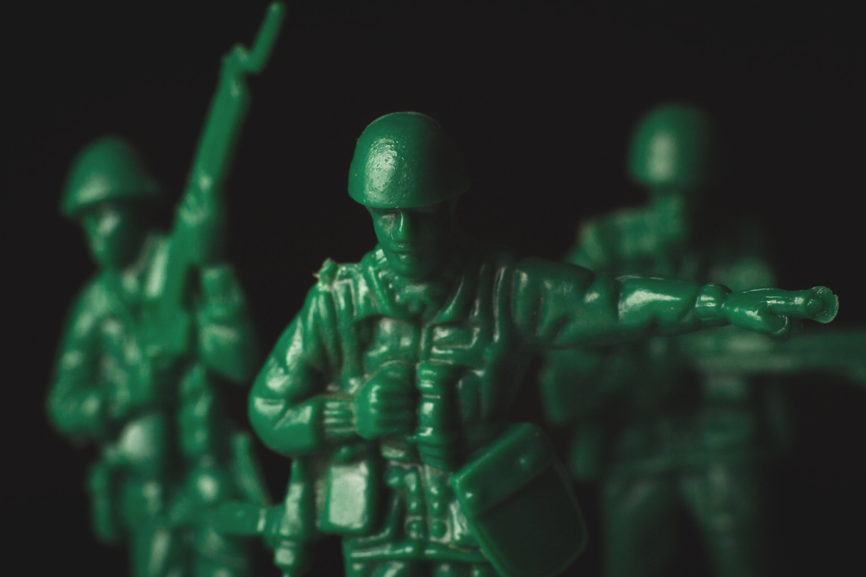 Army Men Standing