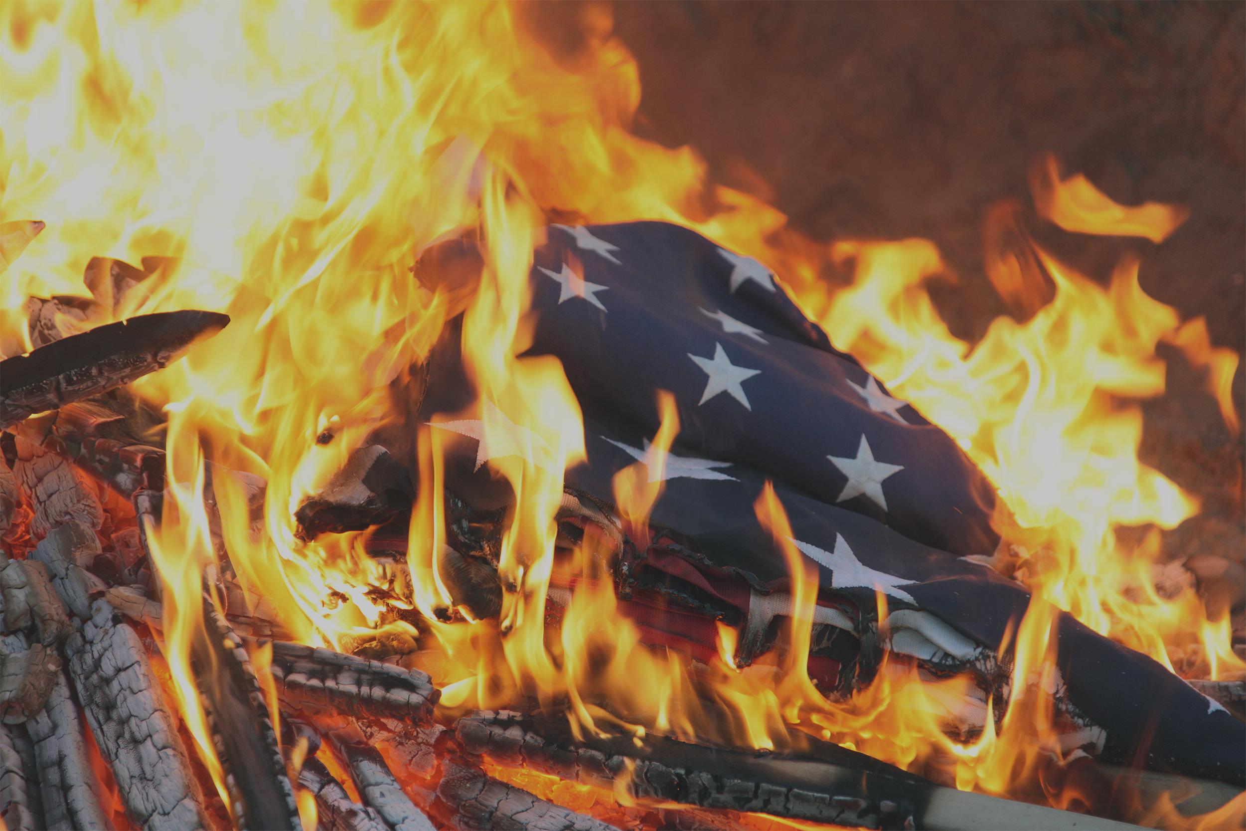 Burning Flag