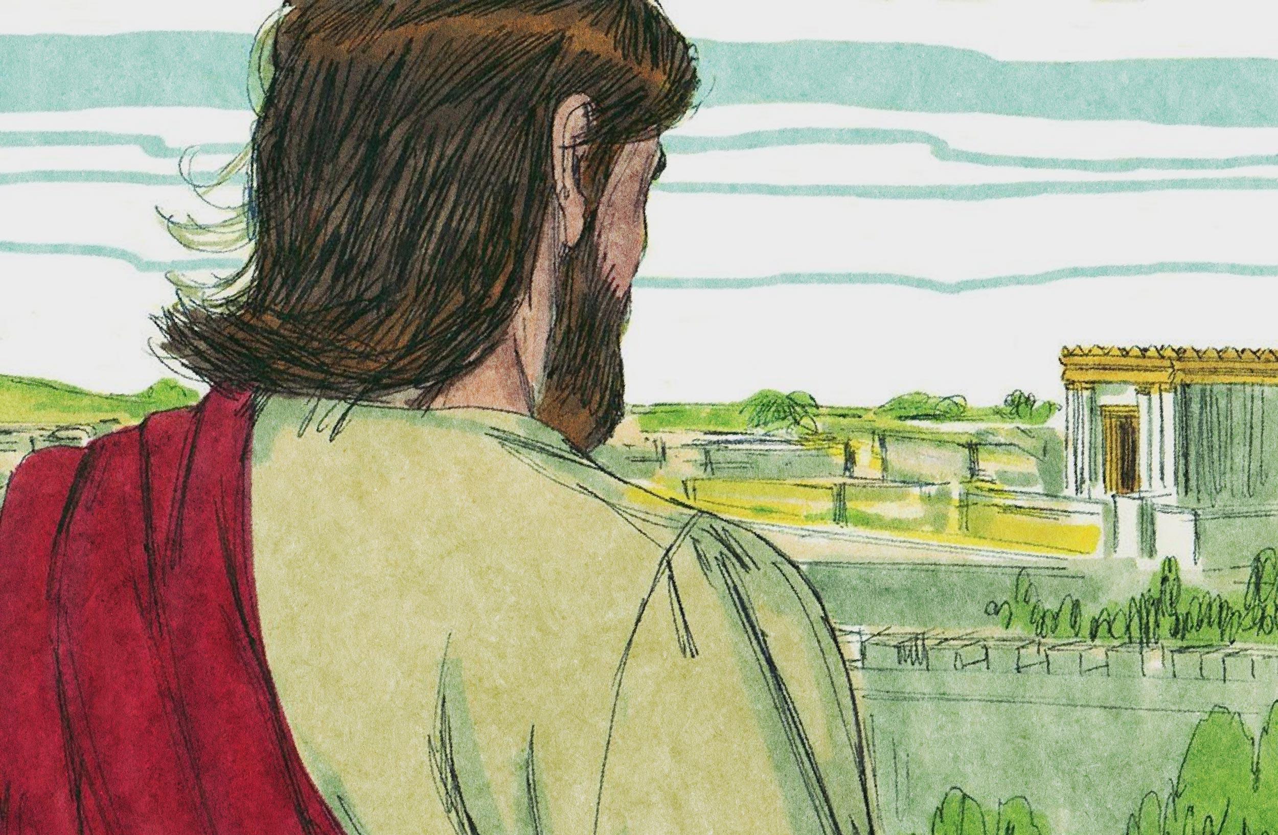 Jesus Prophesies the Destruction of the Temple