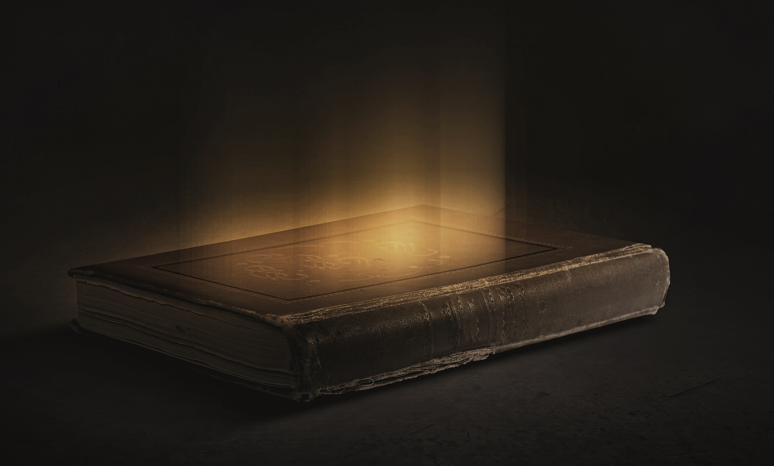 Glowing Book